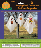 Ghost Hanging Decorations (3)